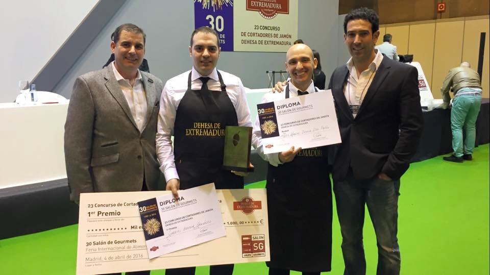 Concurso cortadores de jamón Salón de Gourmets 2016