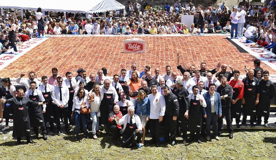 Record Guinness Plato de Jamón más grande del mundo Toledo