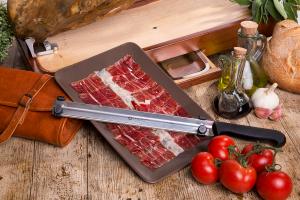 Cuchillo para cortar jamón, loncheador