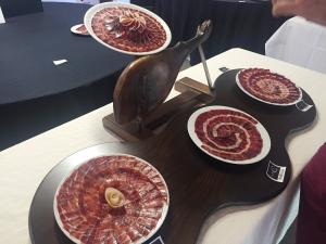 Mejor presentación artística concurso cortadores jamón
