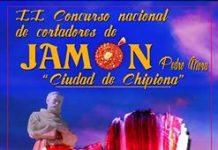 """II Concurso Nacional de Cortadores de Jamón, Pedro Mora """"Ciudad de Chipiona"""""""