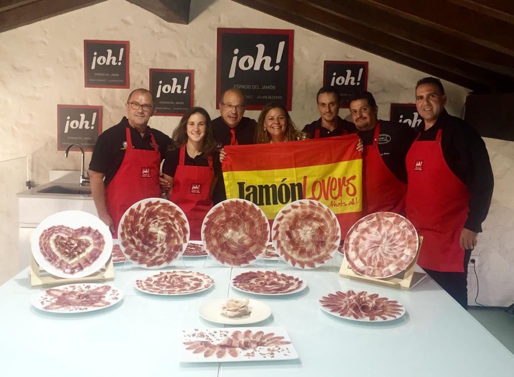 Curso presentaciones en plato de jamón de Virgilio Sánchez, ¡oh! Espacio del Jamón