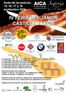 IV Feria del Jamón de Castilla y León en Segovia