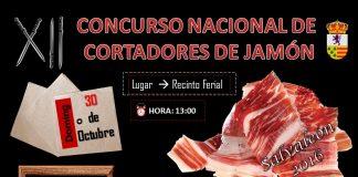 XII Concurso Nacional de Cortadores de Jamón de Salvaleón