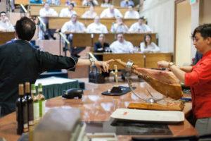 Master Class a chefs sobre jamón Ibérico en American Culinary Institute