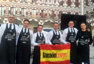 Participantes II Concurso de Cortadoras y Cortadores de Jamón Badajoz Capital Ibérica