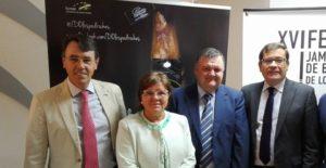 Presentación de la XVI Feria del jamón iberico de bellota de Los Pedroches
