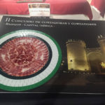 Premio Plato Creativo II Concurso de Cortadoras y Cortadores de Jamón Badajoz Capital Ibérica