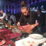 Raquel Acosta Quintanilla II Concurso de Cortadoras y Cortadores de Jamón Badajoz Capital Ibérica