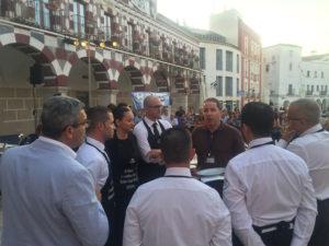 Reunión previa II Concurso de Cortadoras y Cortadores de Jamón Badajoz Capital Ibérica