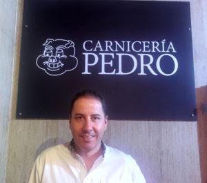 Carnicería Pedro, Puebla de la Calzada. Pedro Pérez Casco
