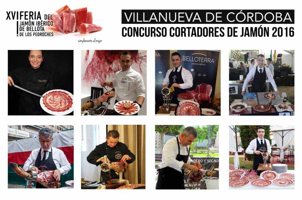 XVI Concurso de Cortadores de Jamón de Villanueva de Córdoba