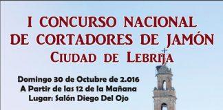 I Concurso Cortadores de Jamón Ciudad de Lebrija