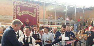 Emilio Rubio Torralbo ganador del Jamón de Oro de Villanueva de Córdoba