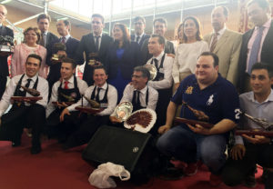 Entrega de premios Concurso Cortadores Jamón Villanueva de Córdoba Los Pedroches