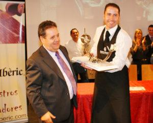 Pedro José Pérez Casco, ganador Pinza de Oro en el concurso de cortadores de Sant Boi