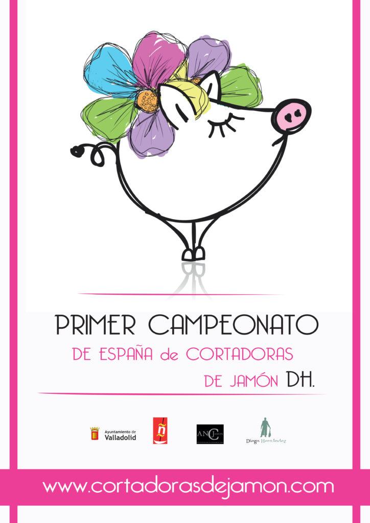 I Campeonato de España de Cortadoras de Jamón Diego Hernández en Valladolid
