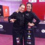 Carmen Nágera y Laura Polvillo: Cortadoras Jamón Valladolid