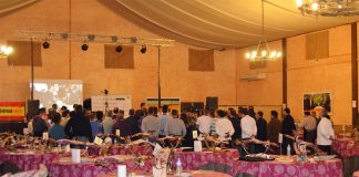 Curso de corte de jamón benéfico organizado por la Asociación Reyes Magos de Chiclana y Agacuj
