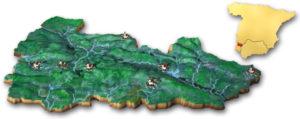 Mapa Jabugo