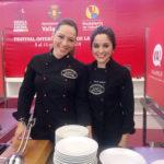 Carmen Nágera y Marta Medrán: Cortadoras de Jamón Valladolid