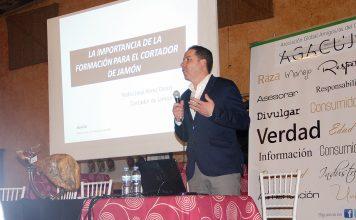 Ponencia Pedro José Pérez Casco, la importancia de la formación para el cortador de jamón. Cursos de Corte de jamón Benéfico Chiclana