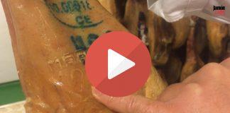 Selección de un jamón ibérico, el sello MAPA