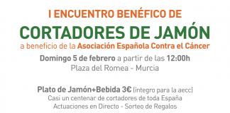 I Encuentro Benéfico de Cortadores de Jamón en Murcia