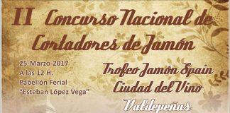 """II Concurso Nacional Cortadores de Jamón """"Trofeo Jamón Spain"""" Ciudad del Vino Valdepeñas"""