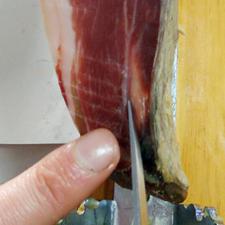 El corte de la paleta: Marcado omóplato o escápula de la paletilla