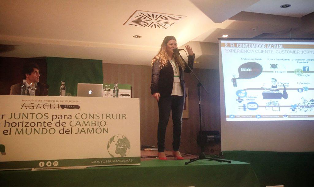 II Jornada Formativa sobre el Jamón de la mano de AGACUJ: Miriam López Ortega, la importancia del marketing dentro del sector del jamón