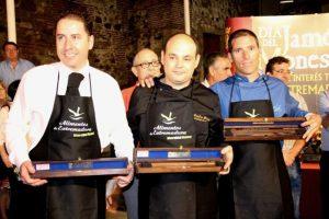 Anselmo Pérez Ganador Cuchillo de Oro de Monesterio
