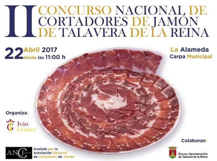 II Concurso Nacional de Cortadores de Jamón en Talavera de la Reina