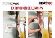 El corte de la paleta: Extracción de lonchas de la paletilla