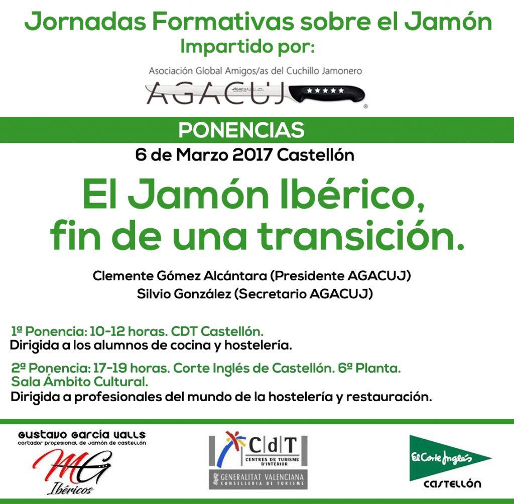 Jornada Formativa sobre el mundo del Jamón en Castellón