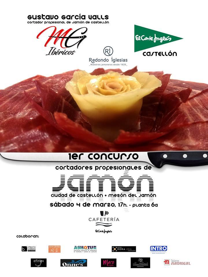 I concurso de cortadores profesionales de jamón Ciudad de Castellón