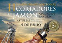 II Concurso Nacional de Cortadores de Jamón Ciudad de Langreo