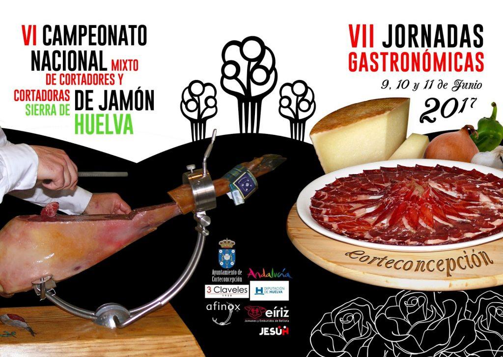 VI Campeonato Nacional Mixto Cortadores de Jamón en Corteconcepción