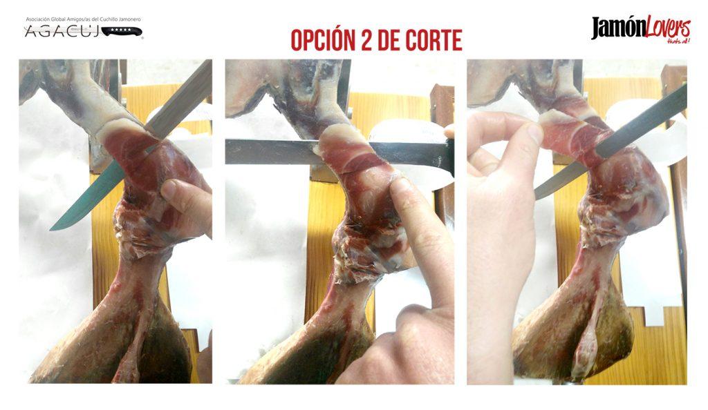 Cómo cortar una paletilla: Segunda opción, el corte de la paleta