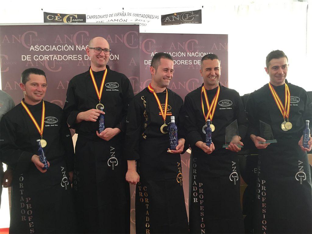 Participantes Campeonato Nacional Cortadores de Jamón ANCJ 2017