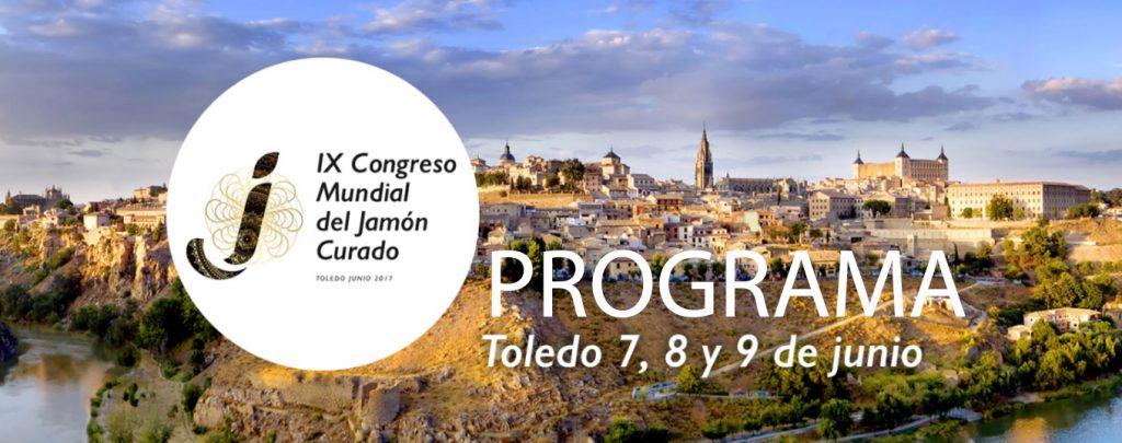 Programa IX Congreso Mundial del Jamón Curado