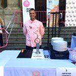 Abraham Cambres: Final de cortadores de jamón de capa blanca Interpor Spain