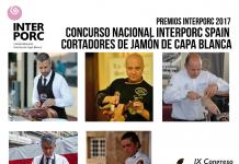 Final Concurso Nacional Interporc Spain de Cortadores de Jamón de Capa Blanca