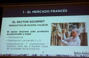 Ponencia Philippe Poulachon de Bellota Bellota en el Congreso Mundial del Jamón Curado