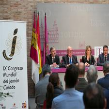 Presentación Congreso Mundial del Jamón Curado en Toledo