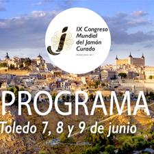 Programa Congreso Mundial del Jamón Curado