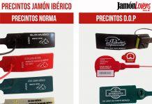 Los precintos del jamón ibérico