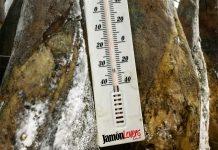 La importancia de la temperatura en el jamón ibérico