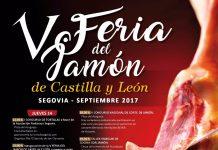 V Feria del Jamón de Castilla y León del 14 al 17 de Septiembre en Segovia