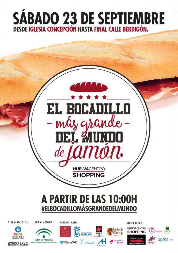 El bocadillo de jamón más grande del mundo y más solidario